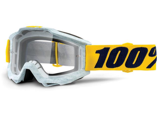 100% Accuri Anti Fog Clear goggles grijs